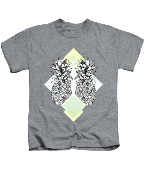 Tropical Kids T-Shirt by Barlena Illustrations