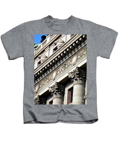 U S Custom House 2 Kids T-Shirt by Randall Weidner