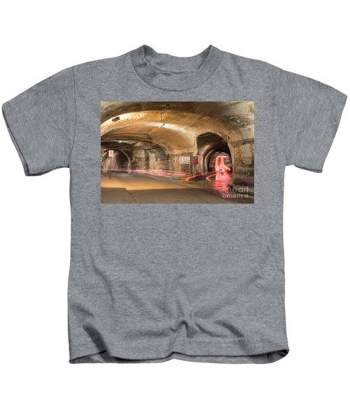 Underground Tunnels In Guanajuato, Mexico Kids T-Shirt by Juli Scalzi