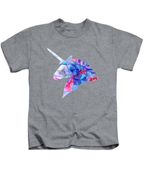 Unicorn Dream Kids T-Shirt by Anastasiya Malakhova