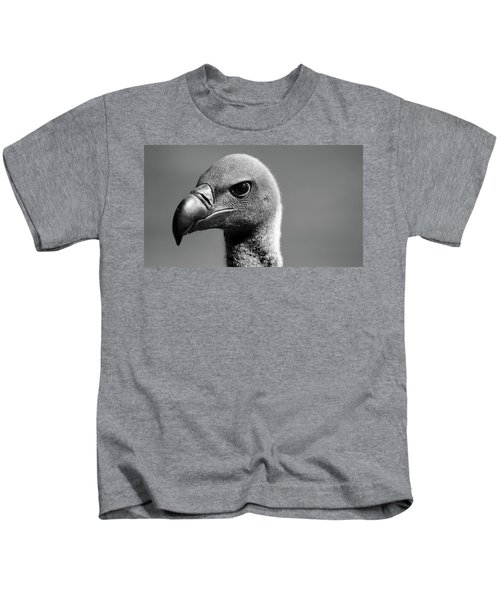 Vulture Eyes Kids T-Shirt by Martin Newman