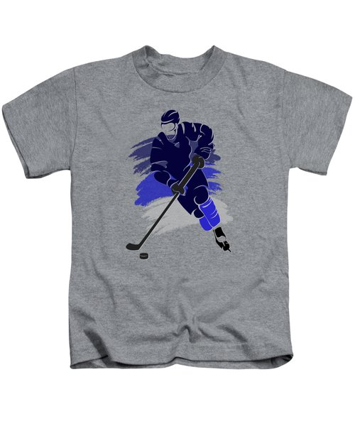 Winnipeg Jets Player Shirt Kids T-Shirt by Joe Hamilton
