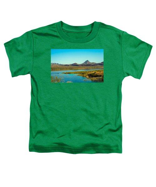 Alamo Lake Toddler T-Shirt by Robert Bales