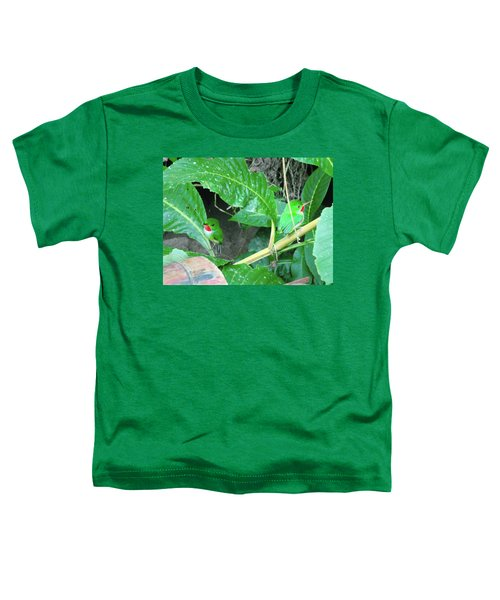 Jamaican Toadies Toddler T-Shirt by Carey Chen