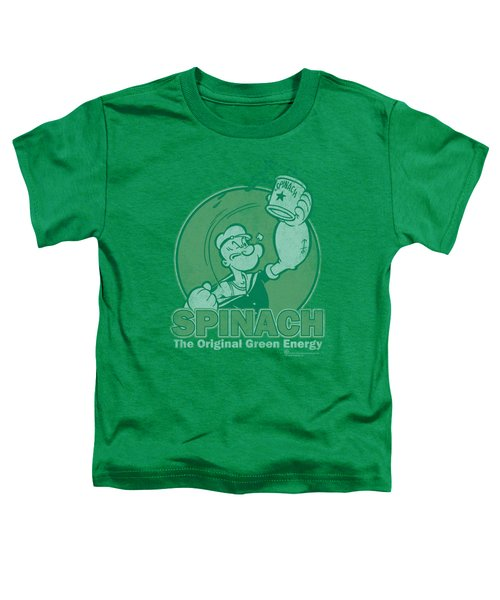 Popeye - Green Energy Toddler T-Shirt by Brand A