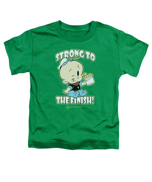 Popeye - Strong To The Finish Toddler T-Shirt by Brand A