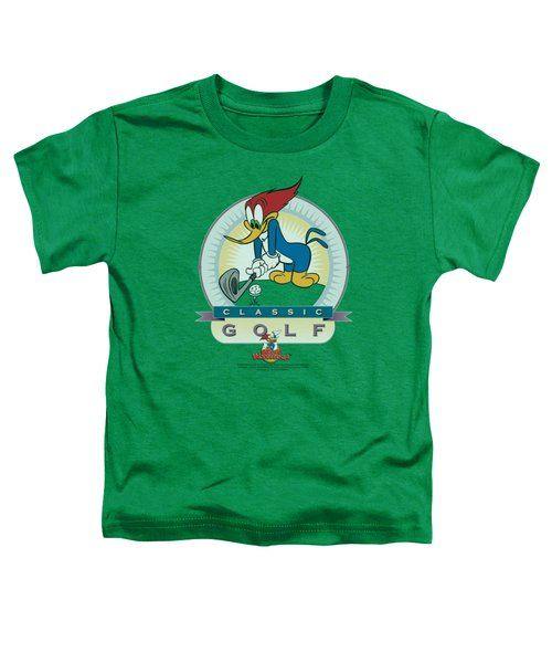 Woody Woodpecker - Classic Golf Toddler T-Shirt by Brand A