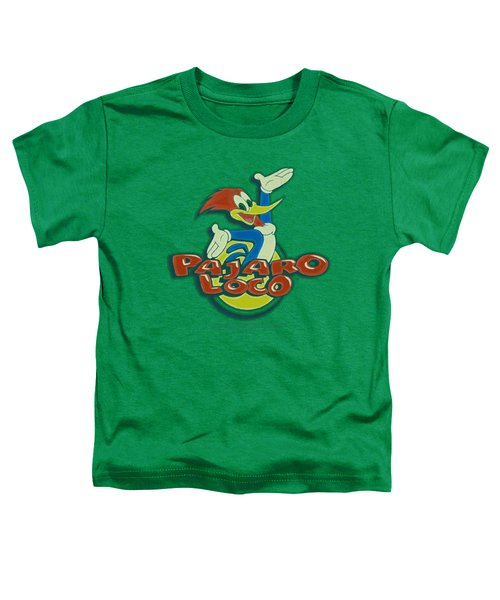 Woody Woodpecker - Loco Toddler T-Shirt by Brand A