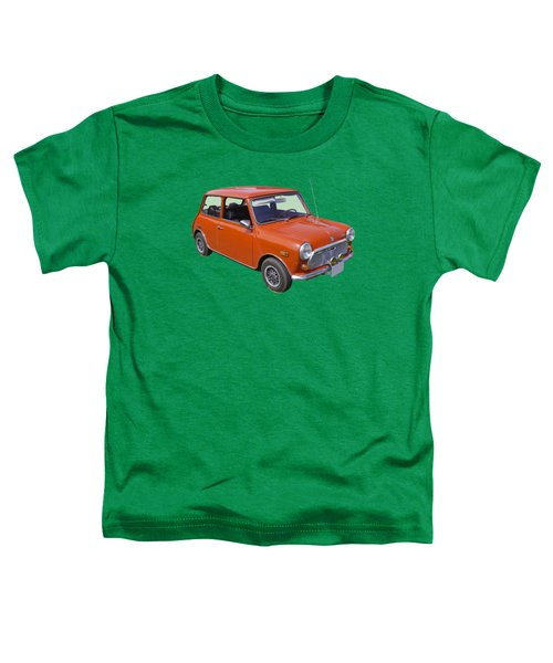 Red Mini Cooper Toddler T-Shirt by Keith Webber Jr