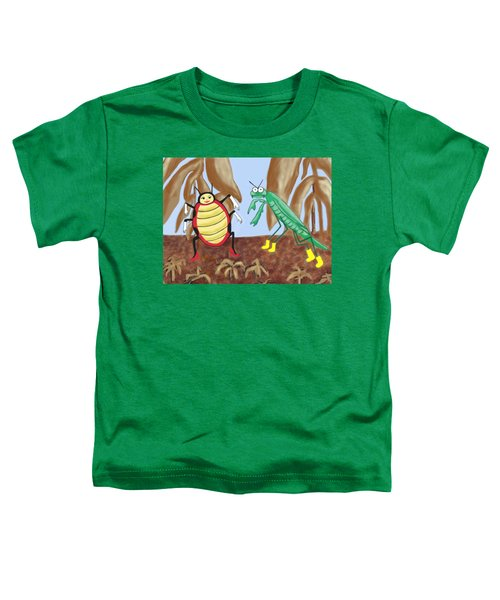 Lucy And Pablo Need A Garden Toddler T-Shirt by Jan Watford