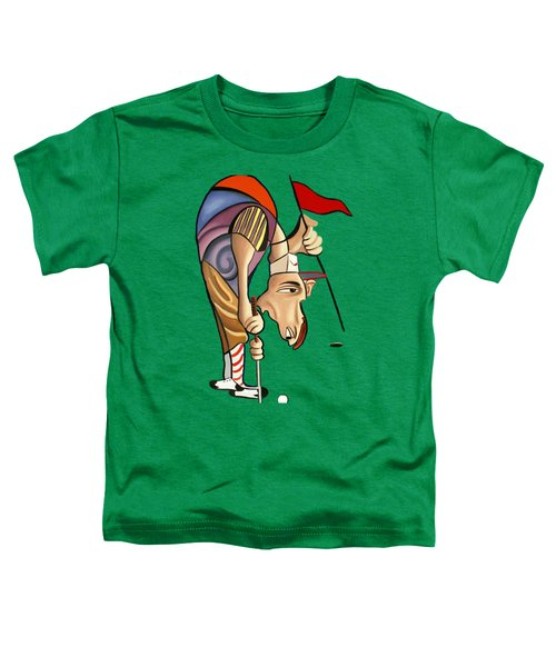 Par For The Course T-shirt Toddler T-Shirt by Anthony Falbo