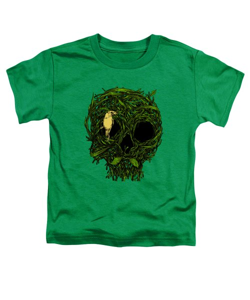 Skull Nest Toddler T-Shirt by Carbine