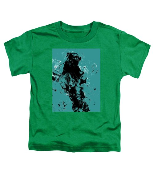 Venus Williams 4f Toddler T-Shirt by Brian Reaves