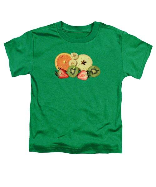 Wet Fruit Toddler T-Shirt by Shane Bechler