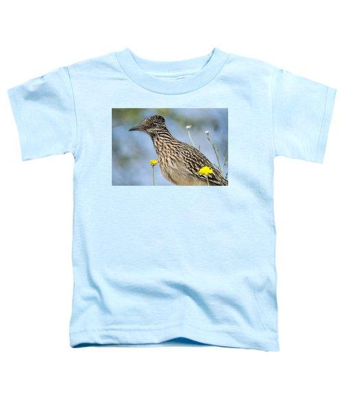 The Greater Roadrunner  Toddler T-Shirt by Saija  Lehtonen