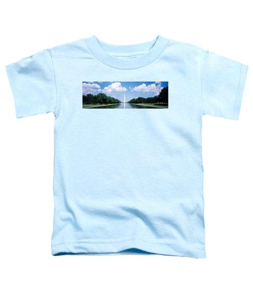 Washington Monument Washington Dc Toddler T-Shirt by Panoramic Images