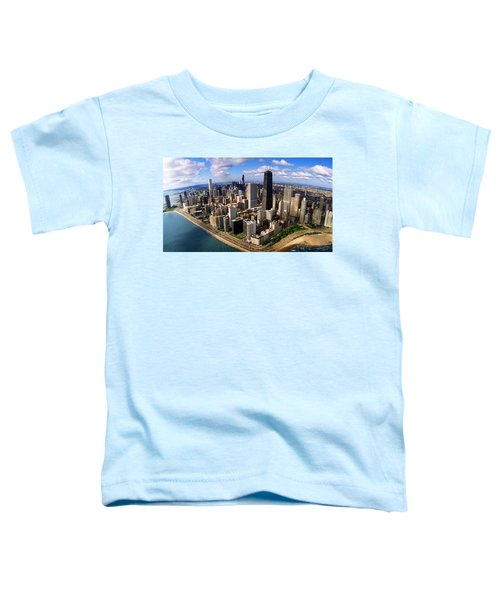 Chicago Il Toddler T-Shirt by Panoramic Images