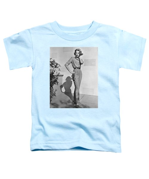 Actress Grace Kelly Toddler T-Shirt by Underwood Archives