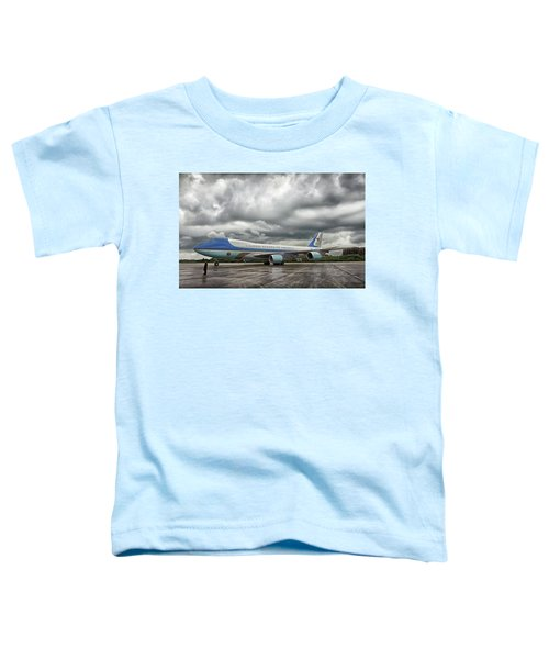 Air Force One Toddler T-Shirt by Mountain Dreams