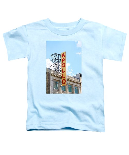 Apollo Theater Sign Toddler T-Shirt by Valentino Visentini
