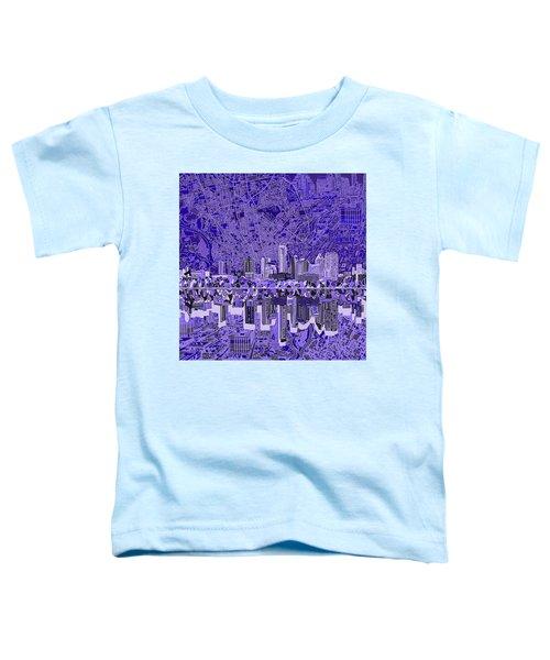 Austin Texas Skyline 4 Toddler T-Shirt by Bekim Art