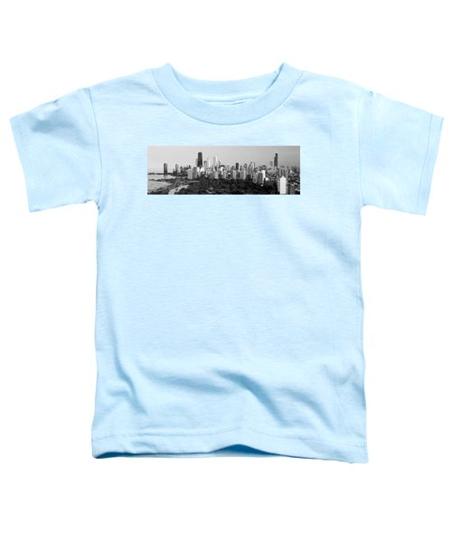 Buildings In A City, View Of Hancock Toddler T-Shirt by Panoramic Images