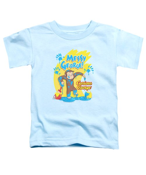 Curious George - Messy George Toddler T-Shirt by Brand A