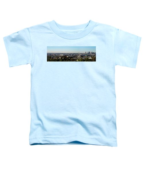 Elevated View Of City, Los Angeles Toddler T-Shirt by Panoramic Images