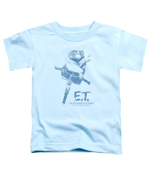 Et - Bike Toddler T-Shirt by Brand A