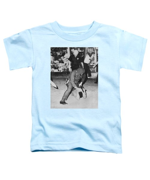 Harlem Race Riots Toddler T-Shirt by Underwood Archives