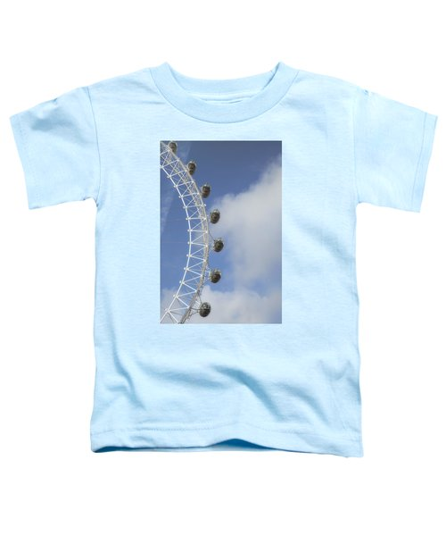 London Eye Toddler T-Shirt by Joana Kruse