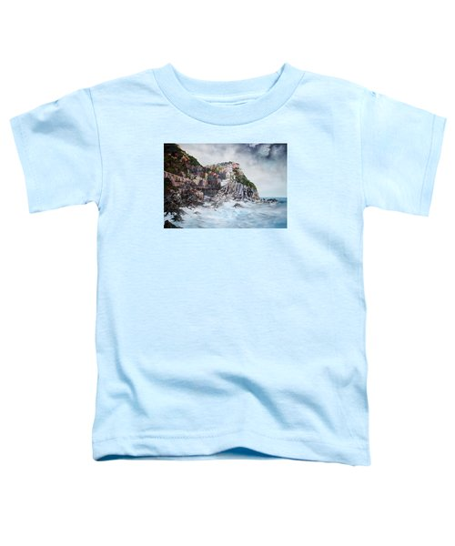 Manarola Italy Toddler T-Shirt by Jean Walker