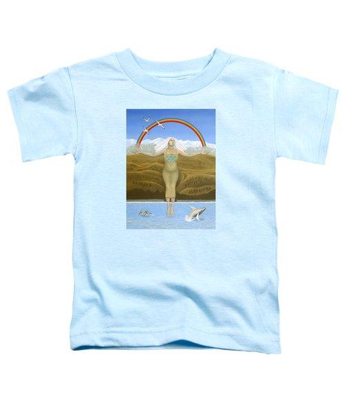Papatuanuku / Capricorn Toddler T-Shirt by Karen MacKenzie