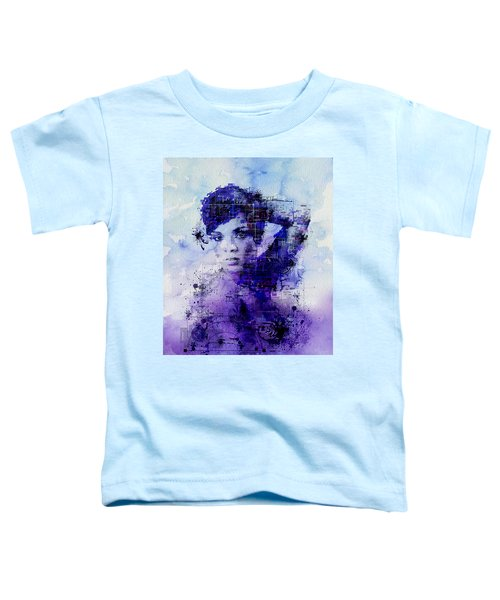 Rihanna 2 Toddler T-Shirt by Bekim Art