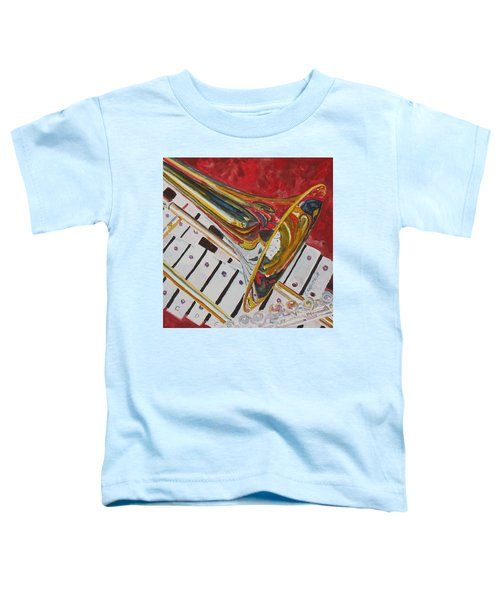 Ringing In The Brass Toddler T-Shirt by Jenny Armitage