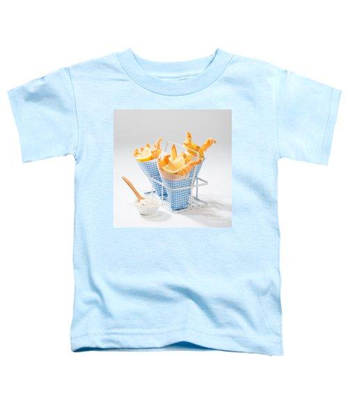 Tempura Prawns Toddler T-Shirt by Amanda Elwell