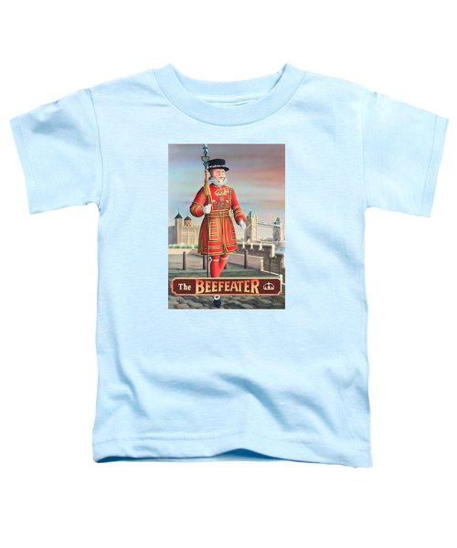 The Beefeater Toddler T-Shirt by Peter Green