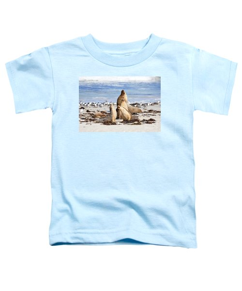 The Choir Toddler T-Shirt by Mike Dawson