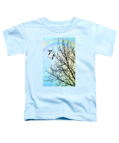 Two For Joy Toddler T-Shirt by John Edwards