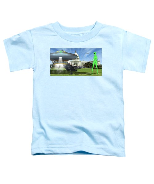 Wip - Washington Field Trip Toddler T-Shirt by Mike McGlothlen