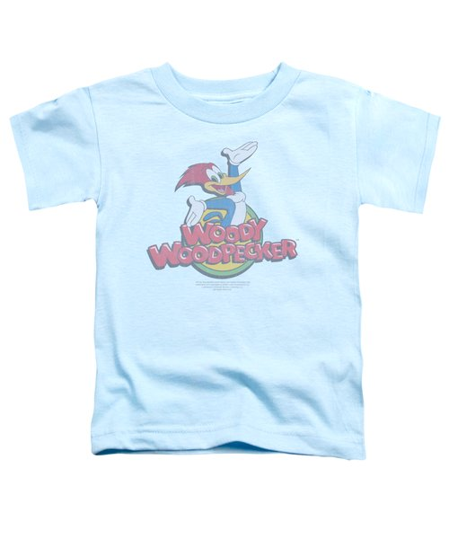 Woody Woodpecker - Retro Fade Toddler T-Shirt by Brand A