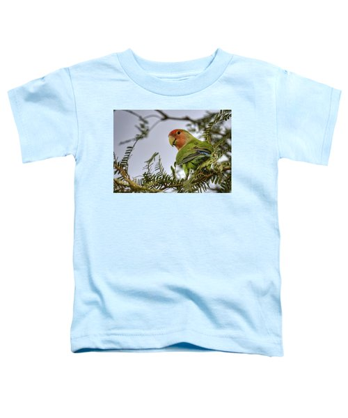 Over My Shoulder  Toddler T-Shirt by Saija  Lehtonen