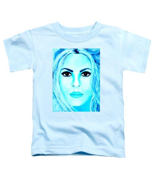 Shakira Avator Toddler T-Shirt by Mathieu Lalonde