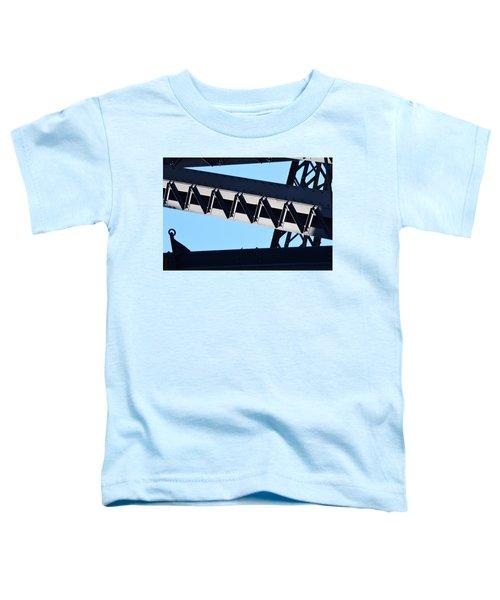 Sydney Harbour Bridge Detail No. 2 Toddler T-Shirt by Sandy Taylor