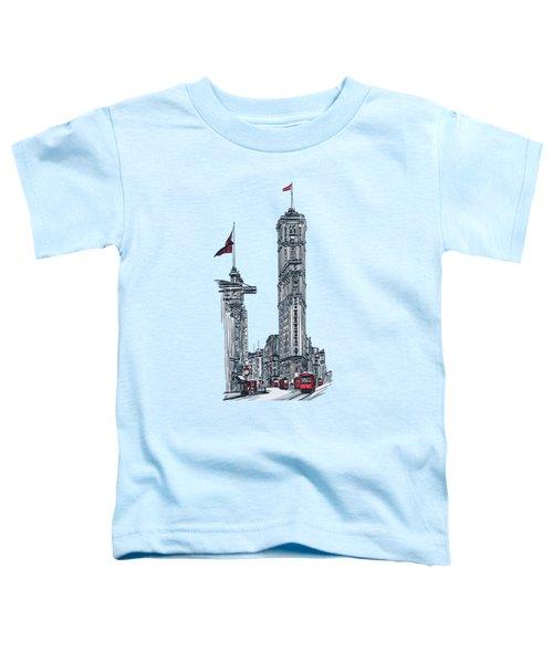 1908 Times Square,ny Toddler T-Shirt by Andrzej Szczerski