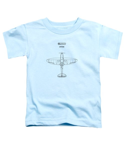 The Spitfire Toddler T-Shirt by Mark Rogan