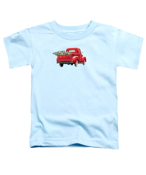 The Road Home Toddler T-Shirt by Sarah Batalka