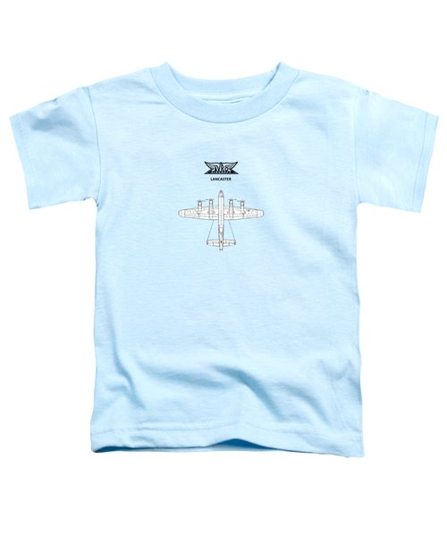 Avro Lancaster Toddler T-Shirt by Mark Rogan