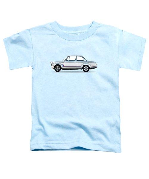 Bmw 2002 Turbo Toddler T-Shirt by Mark Rogan