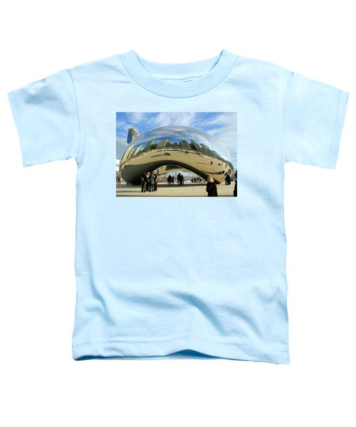 Chicago Reflected Toddler T-Shirt by Kristin Elmquist